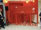 Una panchina rossa gigante inaugurata alle Vallette : è il simbolo contro la violenza sulle donne
