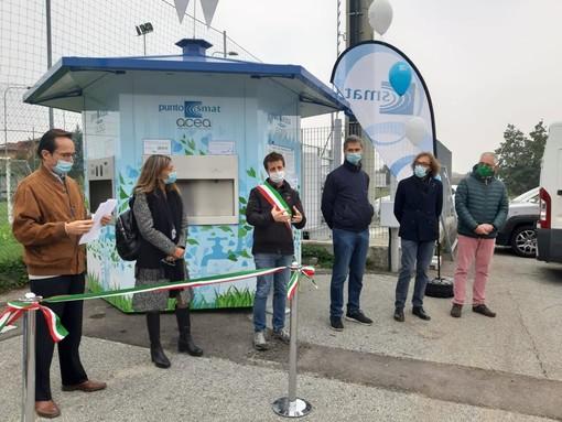 Pinerolo ha un secondo Punto acqua Smat a Riva