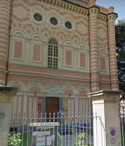 Il tempio valdese di via dei Mille a Pinerolo