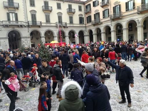 Il carnevale organizzato dalla Pro Pinerolo in centro storico