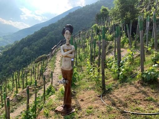 Pomaretto donne di Challier vitigni di ramìe