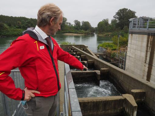 Iren presenta un nuovo video didattico sulla scala di risalita dei pesci presso l'impianto Mini Hydro di La Loggia