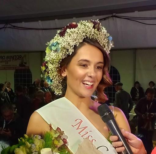 Pomaretto: Miss Comuni Fioriti è una 18enne della provincia di Roma
