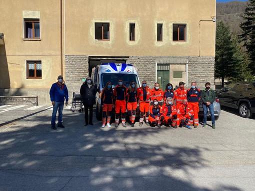 Nuova ambulanza per postazione Tango a Pragelato