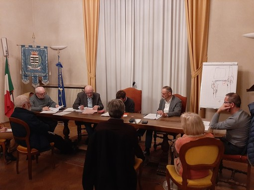 La Commissione di ieri sera a Pinerolo.