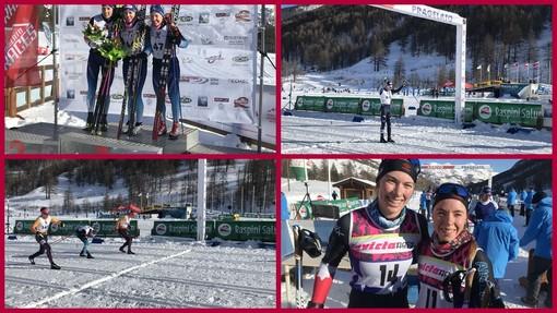 Alpen Cup a Pragelato: tripletta italiana nella 30 km con Venturà, Daprà e Panisi
