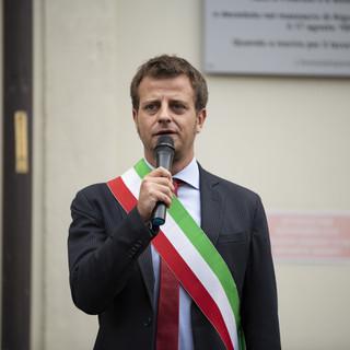 Il sindaco Luca Salvai