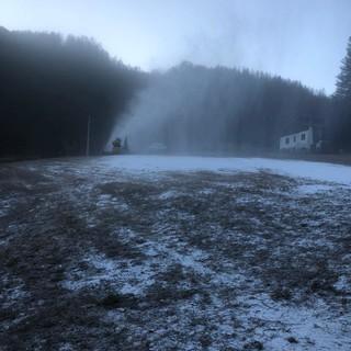 Un flash mob per salvare la stagione dello sci a Prali