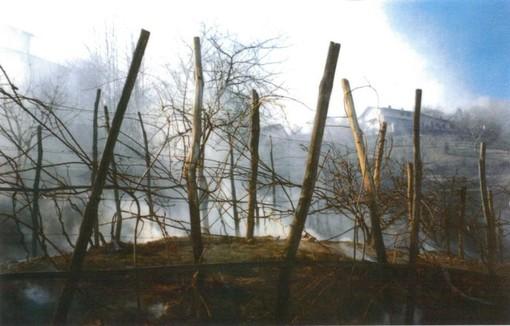 La lezione del grande incendio a Prarostino nato e spinto dal vento (FOTO)