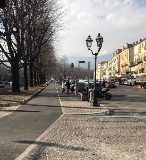 La pista ciclabile di Pinerolo aprirà in vista della primavera: servono ancora interventi sull'asfalto