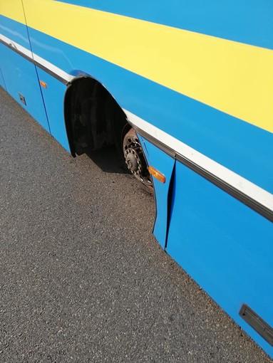 Incidente bus Pinerolo