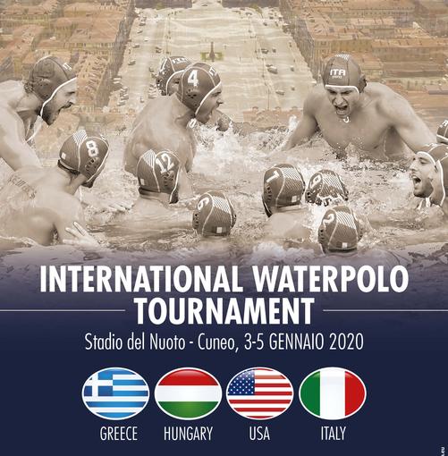 La Nazionale maschile di pallanuoto a Cuneo per un quadrangolare internazionale, biglietti disponibili