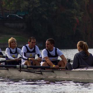 "equipaggio regata ""Rowing for Paris"""