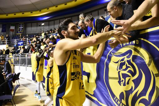 E' aperta la vendita dei tagliandi per il girone di ritorno della Reale Mutua Basket Torino