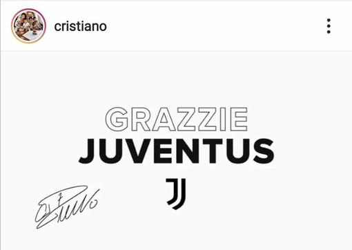 """Ronaldo saluta la Juve e i suoi tifosi: """"Abbiamo ottenuto grandi cose, non tutto ciò che volevamo"""""""