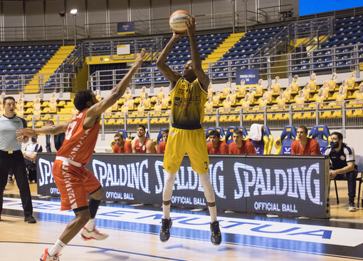 La Reale Mutua Basket Torino a valanga su Trapani