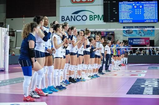 Volley, rinviata la partita fra Reale Mutua Fenera Chieri '76 e Zanetti Bergamo