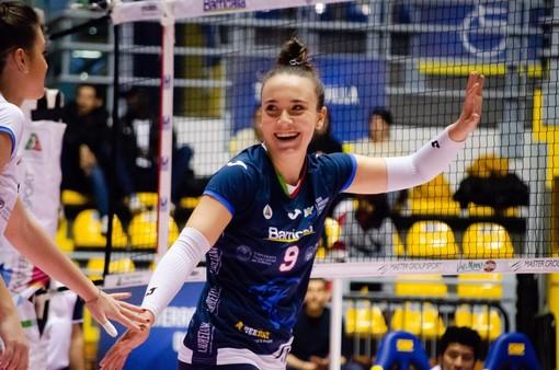 Volley, Rebecca Rimoldi nuovo capitano del Barricalla Cus Torino Volley
