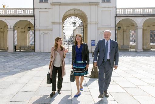 """L'assessore Poggio in visita alla Venaria Reale: """"Fiore all'occhiello del Piemonte"""""""