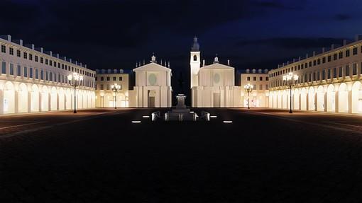 "Per Luci d'Artista piazza San Carlo va in ""blackout"" sinfonico e celebra Leonardo"