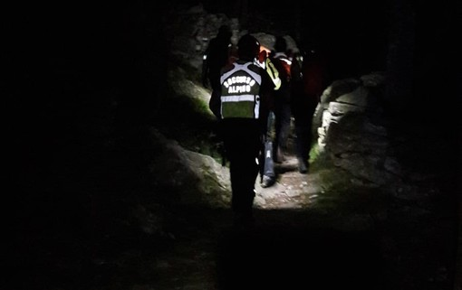 Escursionista soccorso sul sentiero che porta al Colle del Mulè: si era lussato una caviglia