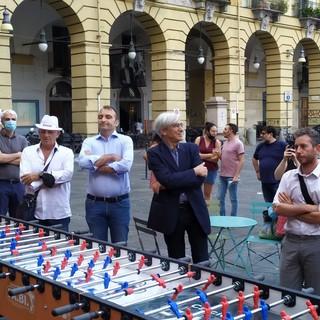 Stefano Lo Russo e Angelo D'Orsi agli Europei di calciobalilla
