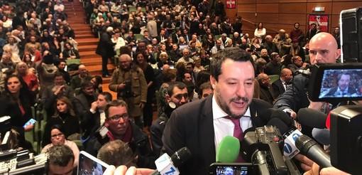 """Elezioni 2021 Torino, Salvini: """"Candidato non necessariamente di partito, Appendino ha spento la città"""" [VIDEO]"""