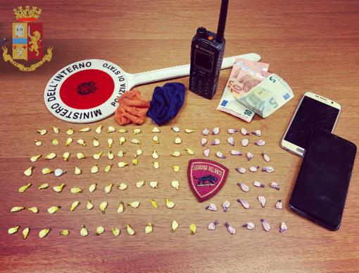 Lotta alla droga in centro e in periferia: cinque spacciatori arrestati dalla Polizia negli ultimi giorni
