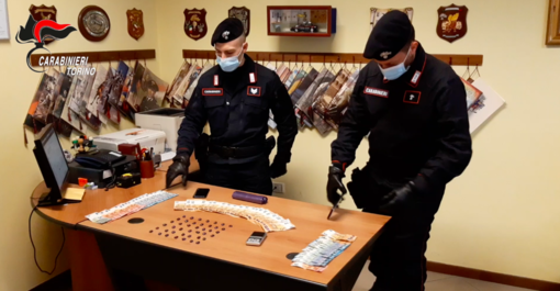 Soldi e droga sequestrati dai carabinieri