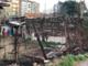 Parella, doppio incendio negli orti abusivi di via Madonna delle Salette