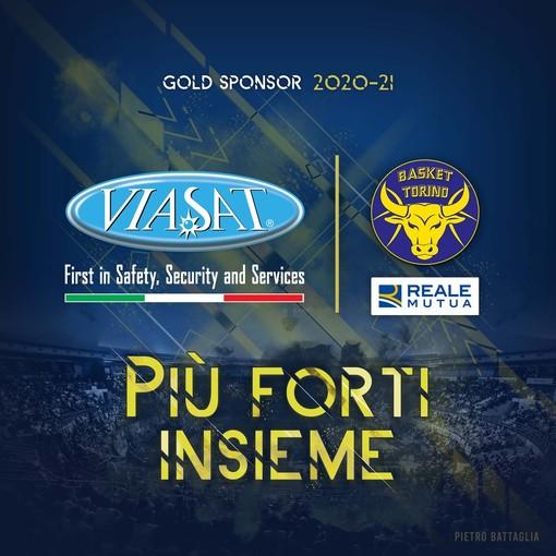 Reale Mutua Basket Torino: prosegue il viaggio con Viasat