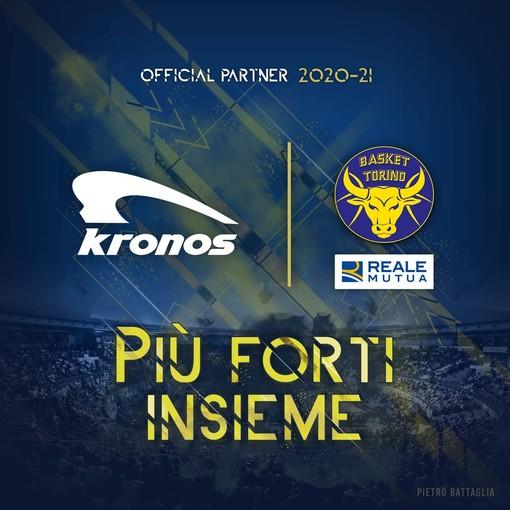 Kronos cammina insieme alla Reale Mutua Basket Torino