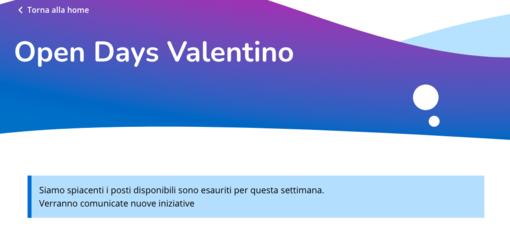 """Open Days Valentino """"sold out"""": i posti vanno a ruba alle prime luci dell'alba"""