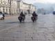 Carabinieri in piazza Vittorio, a Torino