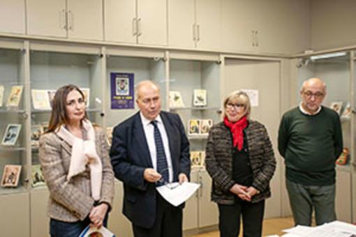 """""""Storie di Carta"""" in mostra alla biblioteca del Consiglio regionale"""