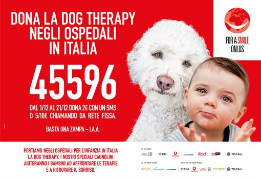 """La pet therapy per aiutare i piccoli alle prese con un percorso di cure: festeggia due anni """"Basta una Zampa"""""""