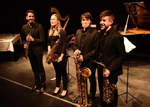 Prima esecuzione assoluta per quattro sax alla Fondazione Sandretto Re Rebaudengo