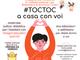 """""""#TOCTOC - A casa con voi"""", la nuova rubrica pensata dalla Biblioteca di Chieri"""