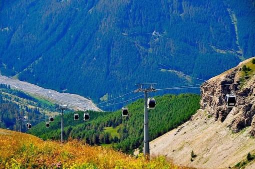 Da domani si potrà salire al monte Fraiteve con la telecabina