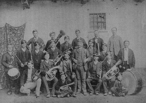 La banda di Torre Pellice a fine Ottocento