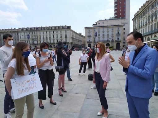 La manifestazione di oggi a Torino