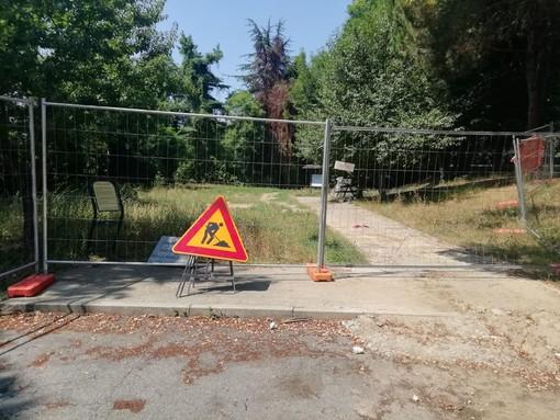 I torresi vogliono veder riaperti i giardini della Rosa Bianca chiusi a causa del cantiere Smat