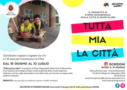 """""""Tutta mia la città"""": il coronavirus non ferma le biciclette degli studenti di Moncalieri"""
