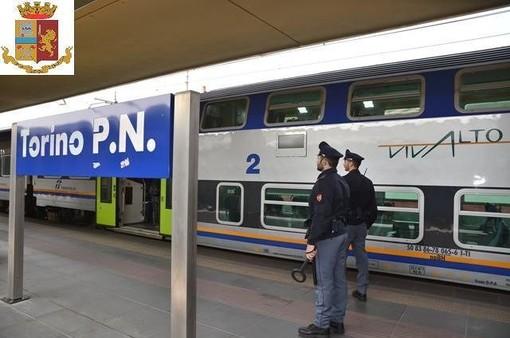 Polizia a Porta Nuova
