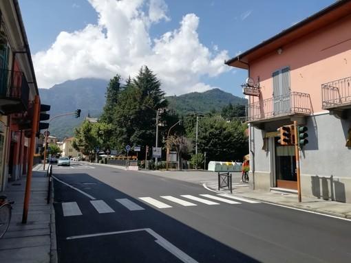 A fine mese potrebbe tornare in funzione il semaforo spento da luglio a Torre Pellice