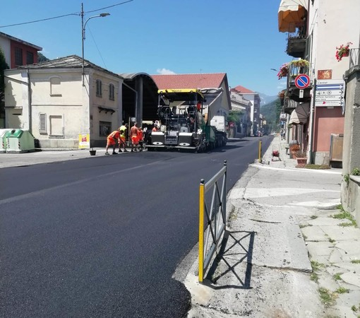 È partita la stagione di asfaltature per Torre Pellice
