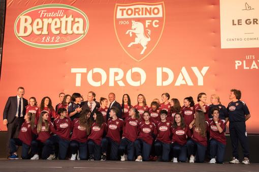 Grugliasco, domani il palco dell'arena esterna delle Gru si colorerà di granata per il Toro day