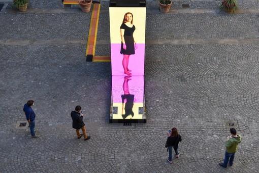 """Livermore firma l'installazione multimediale """"Voci dall'Universo"""" nel cortile del Rettorato [VIDEO]"""