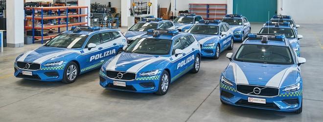 Consegnate ad Autovie Venete S.p.A. venticinque Volvo V60 in allestimento Polizia