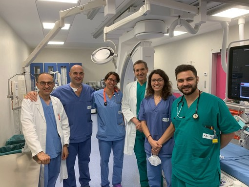 Fibrillazione atriale: alla Cardiologia di Rivoli il primo intervento in Piemonte con una nuova tecnica